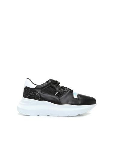 George Hogg George Hogg Deri Kadın Sneaker Siyah